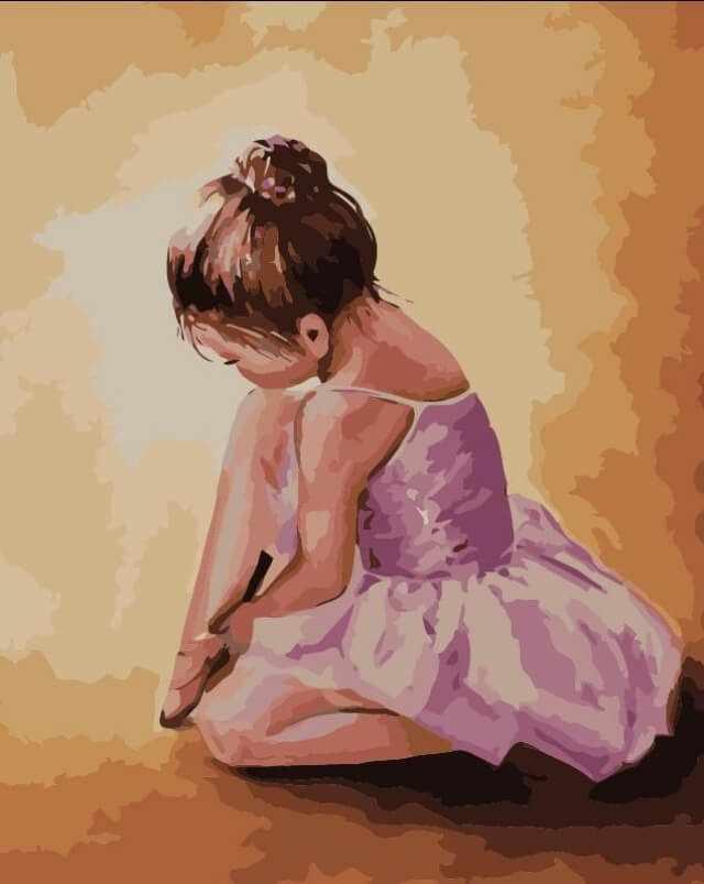 """Mg2055  """"Балерина малышка"""""""