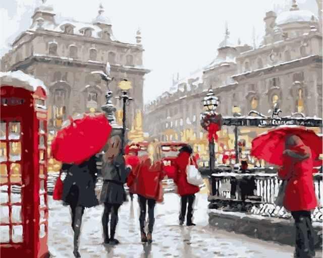 "Mg6034 ""Лондон в снегу"""