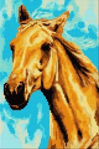 30186-Х Каурый конь