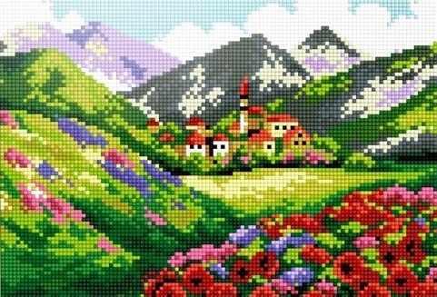 41404-Х Лето в Альпах