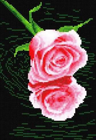 40401-Х Розовая роза