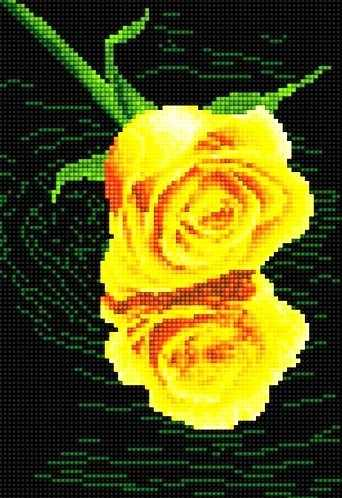 40403-Х Желтая роза