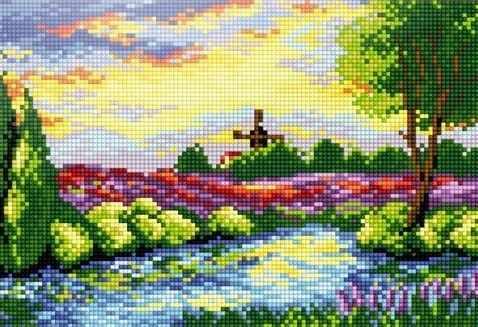 41402-Х Весенний пейзаж