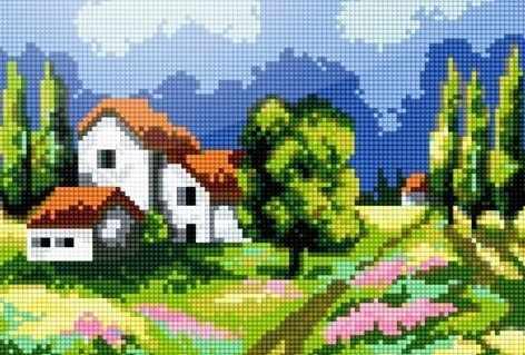 41403-Х Весна в деревне