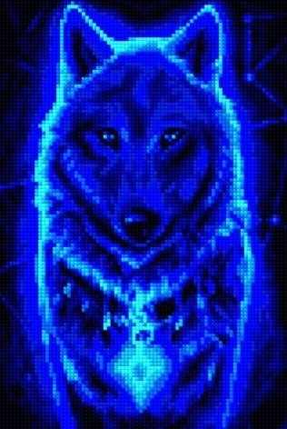 30334-Х Звездная волчица