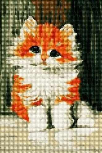 30284-Х Рыжий котёнок