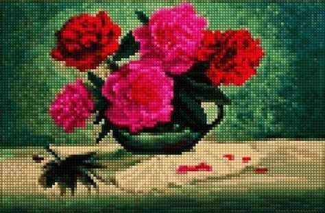 30352-Х Пионы в вазе