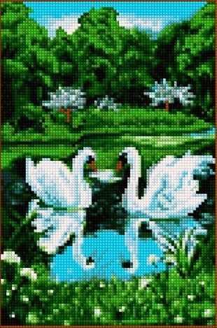 30224-Х Лебеди