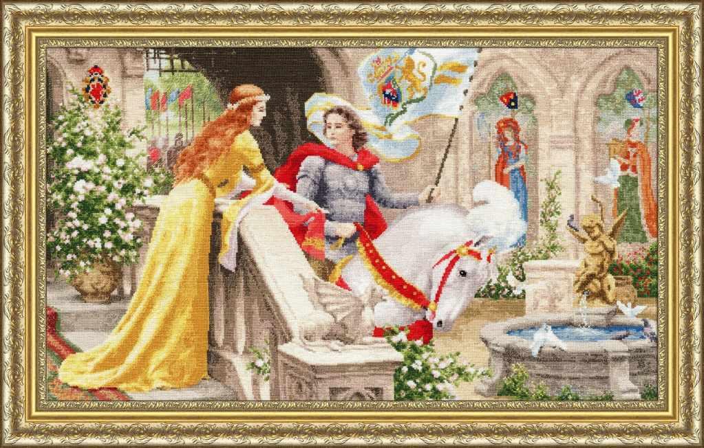 ЧМ-068 Рыцарь на белом коне