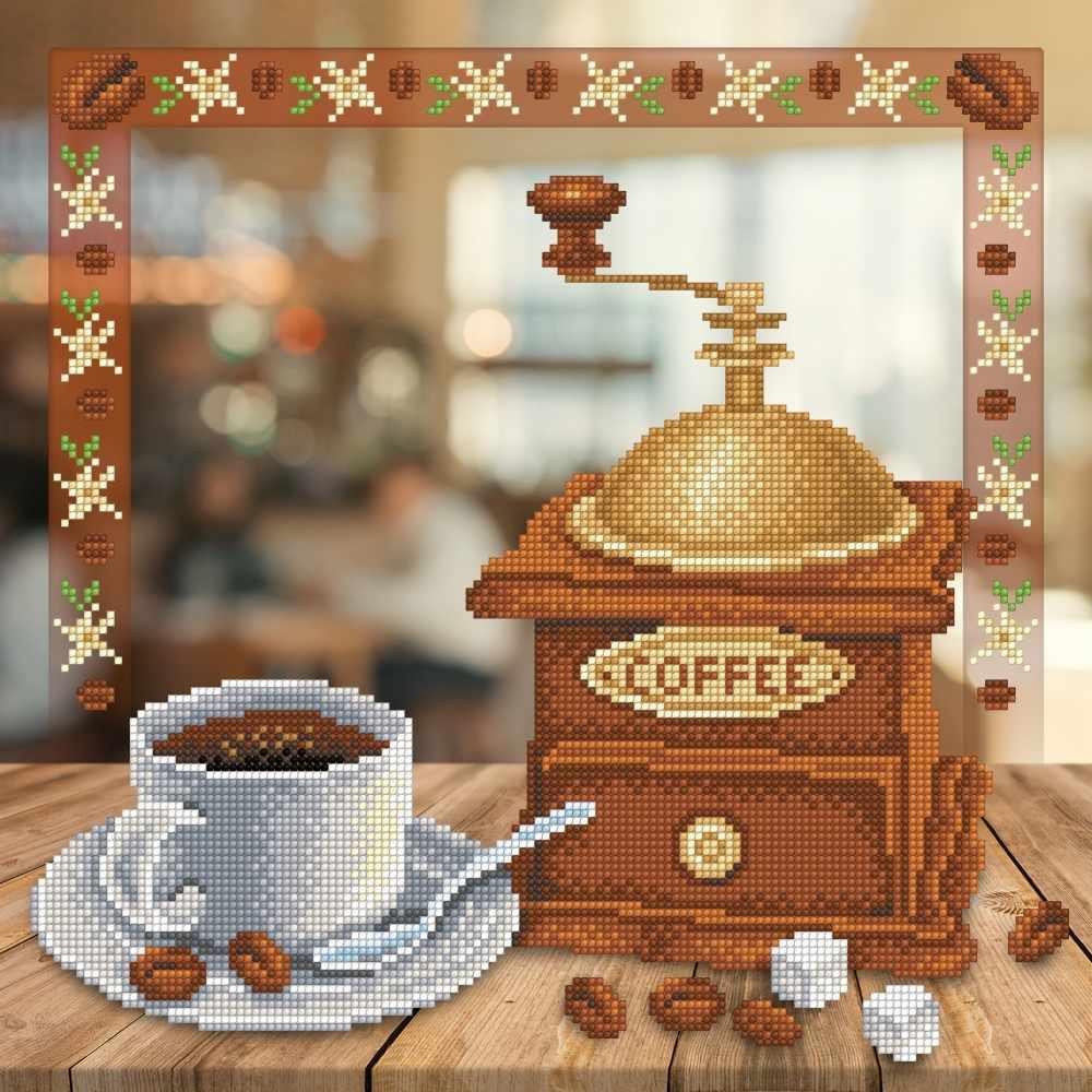 Г-151 Аромат кофе - схема для вышивания (М.П. Студия)
