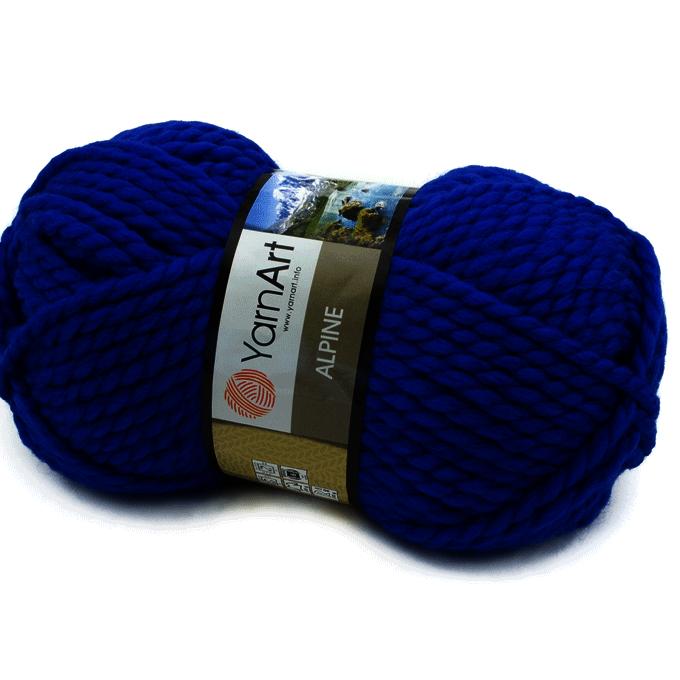 Пряжа YarnArt ALPINE Цвет.342 Синий
