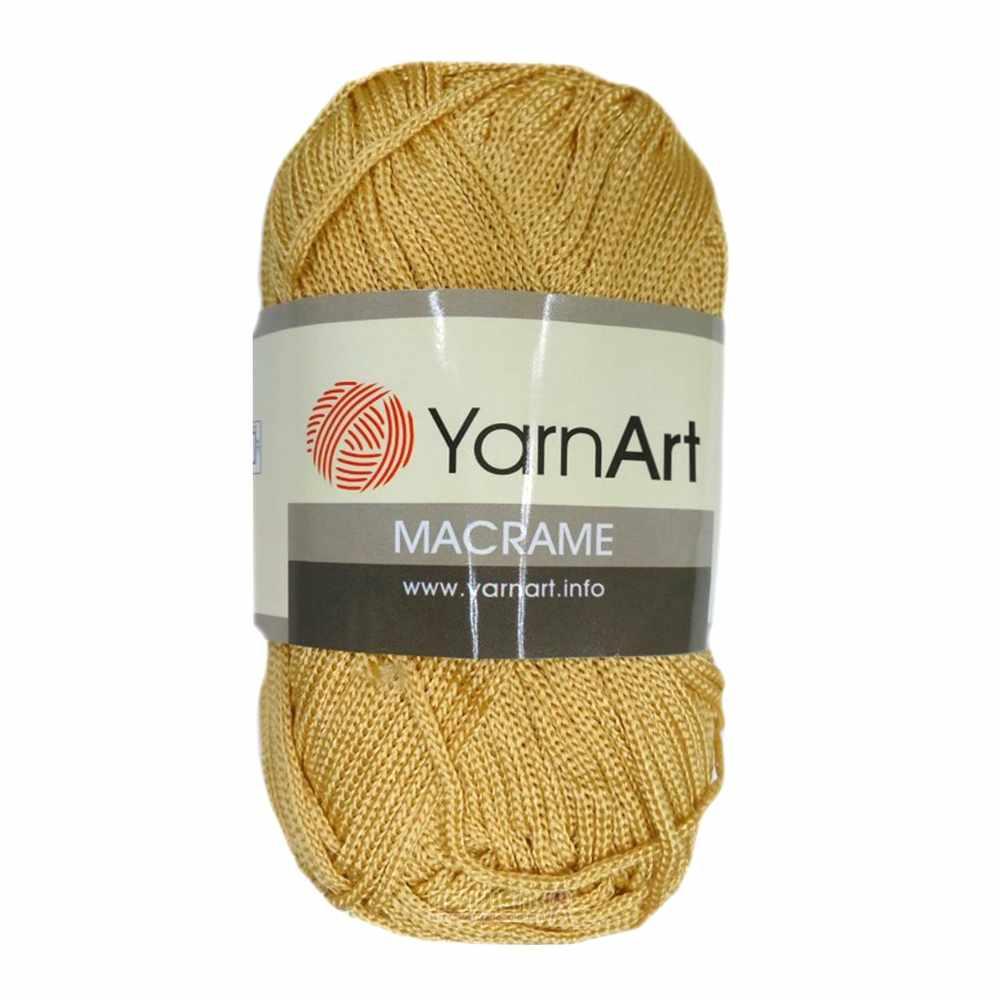 Пряжа YarnArt MACRAME Цвет.155 Рыжий