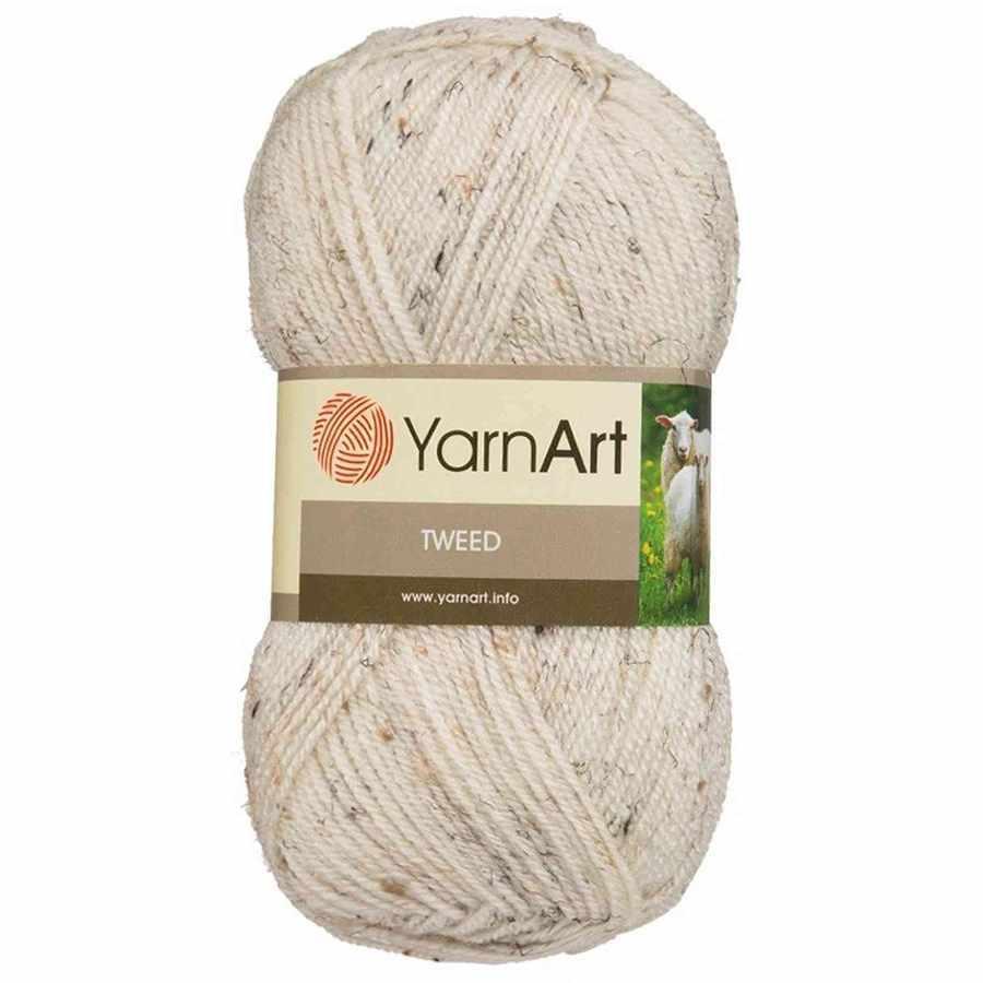 Пряжа YarnArt TWEED YARNART Цвет.221 Натуральный