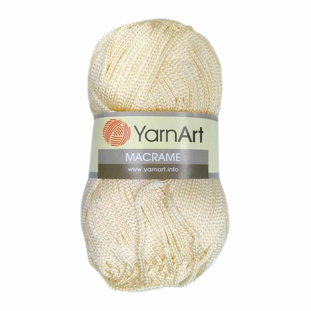 Пряжа YarnArt MACRAME Цвет.137 Молочный