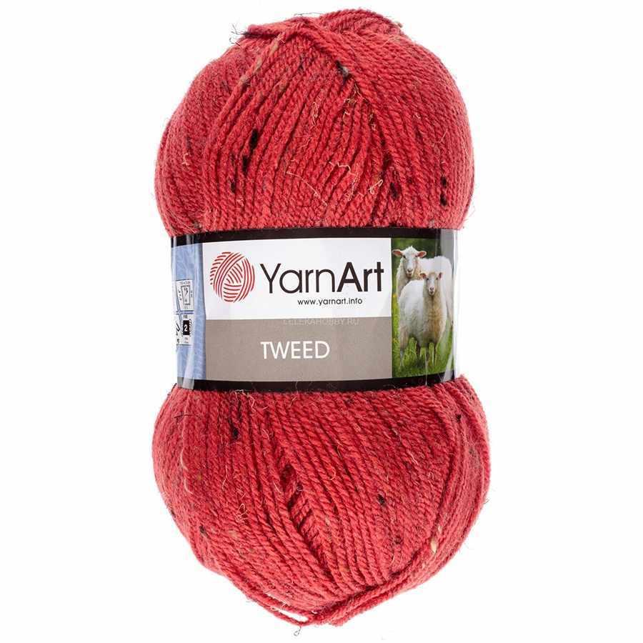 Пряжа YarnArt TWEED YARNART Цвет.231 Красный