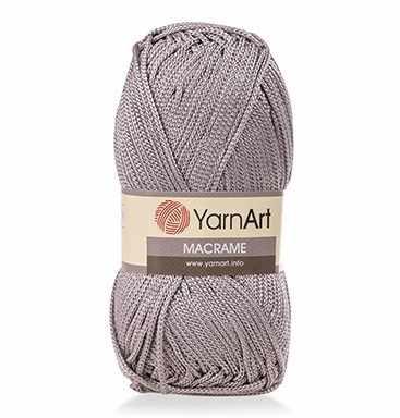Пряжа YarnArt MACRAME Цвет.149 Серый
