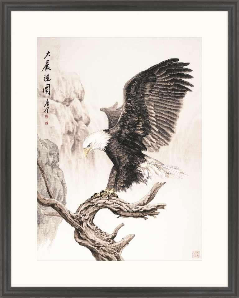 2801502 Орел на вершине дерева - набор (Xiu Crafts)