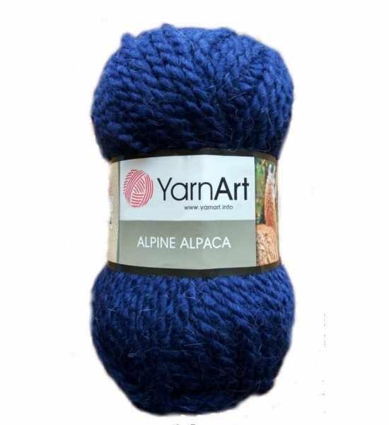 Пряжа YarnArt ALPINE ALPACA Цвет.437 Синий