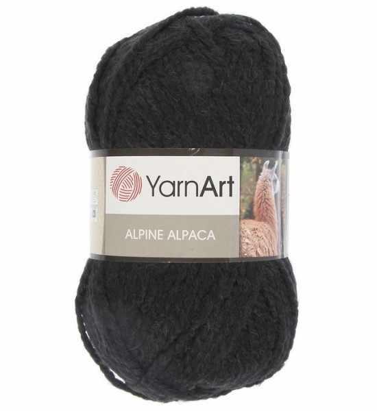 Пряжа YarnArt ALPINE ALPACA Цвет.439 Темно-серый