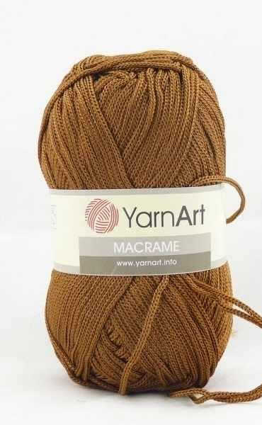 Пряжа YarnArt MACRAME Цвет.151 Коричневый