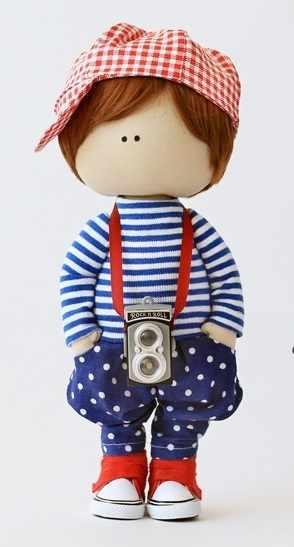 """Набор для создания текстильной куклы """"Джек"""""""
