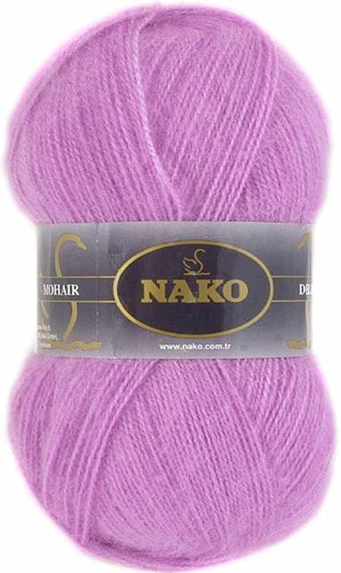 Пряжа Nako Mohair delicate Nako Цвет.6113 Розовый