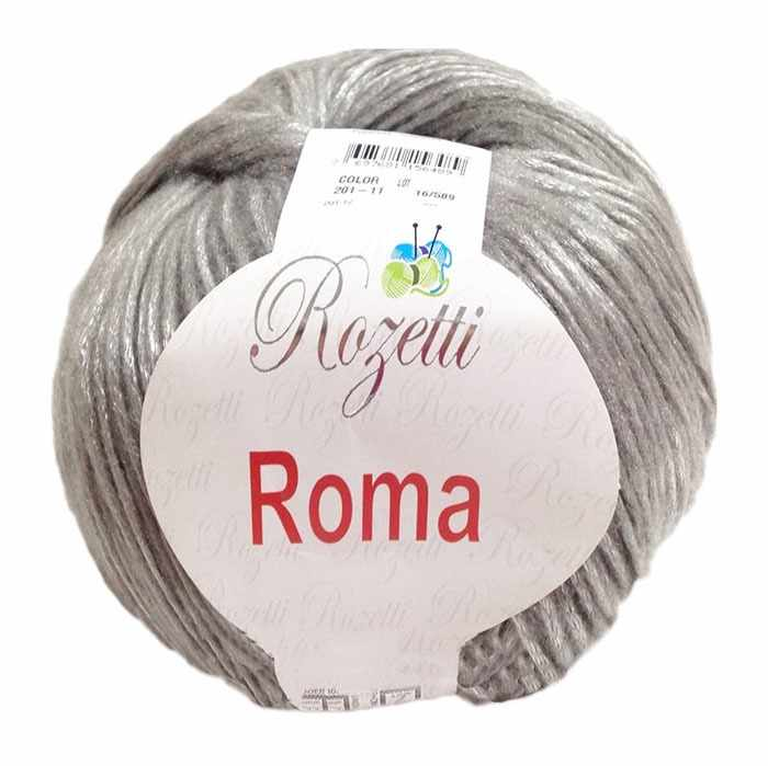 Пряжа Rozetti Roma Цвет.201-11 Серый