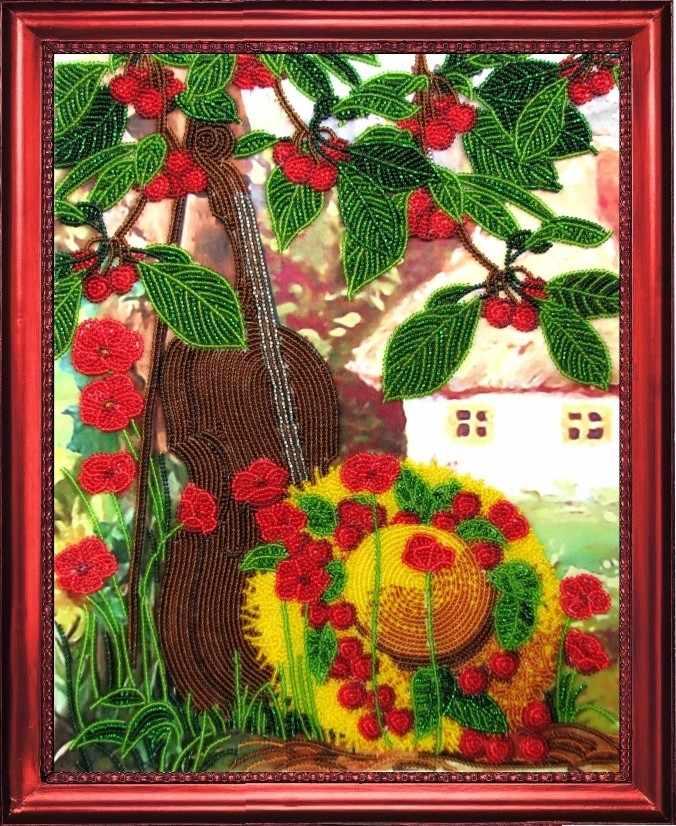 СА 311 Вишневый сад - схема для вышивания (Butterfly)