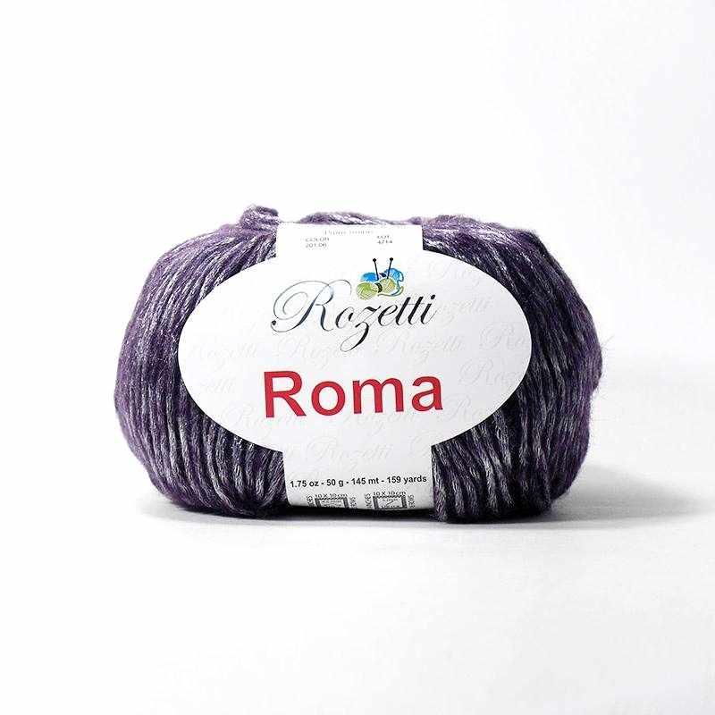 Пряжа Rozetti Roma Цвет.201-06 Фиолетовый