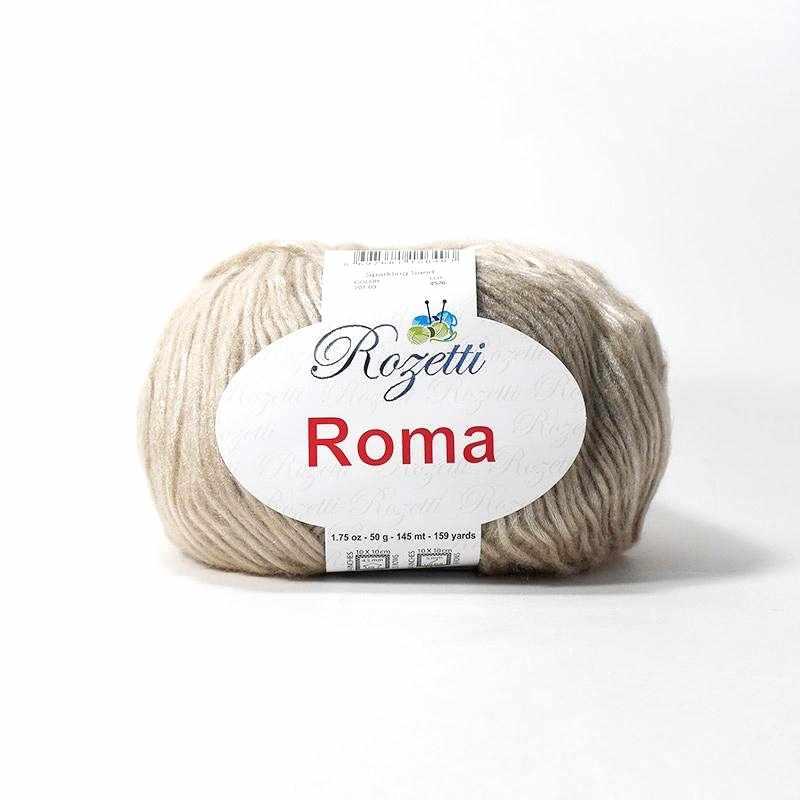 Пряжа Rozetti Roma Цвет.201-03 св.беж.