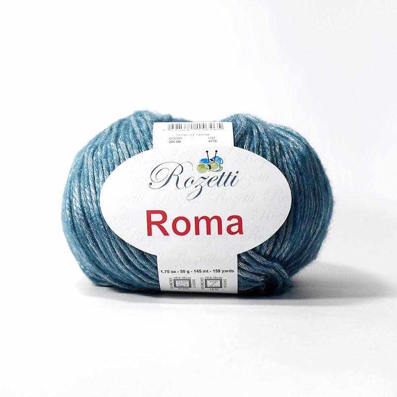 Пряжа Rozetti Roma Цвет.201-09 Морская волна