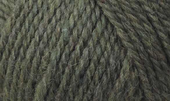 Пряжа Fibra Natura Renew Wool Цвет.107 Зел меланж