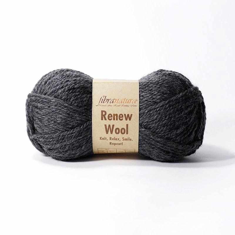 Пряжа Fibra Natura Renew Wool Цвет.111 моренго