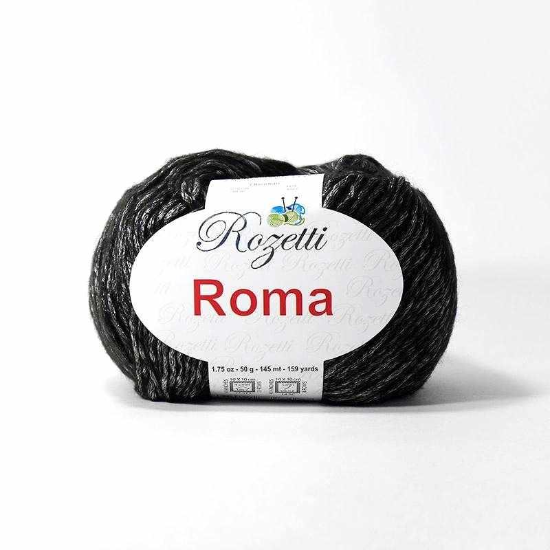 Пряжа Rozetti Roma Цвет.201-07 Серебро
