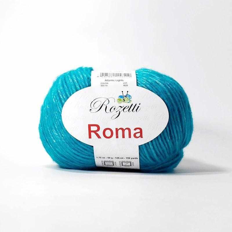 Пряжа Rozetti Roma Цвет.201-14 Бирюза