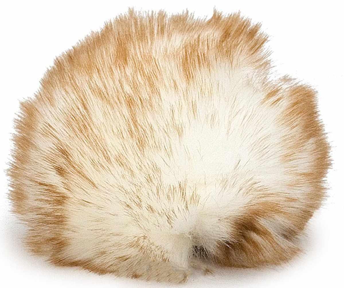 Bobble Hat Цвет.32 Рыже-белый