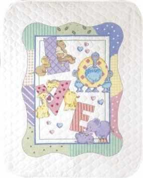 73470-DMS Лоскутное одеяло. Алфавит зоопарк