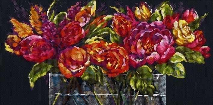 35364-DMS Цветы радости