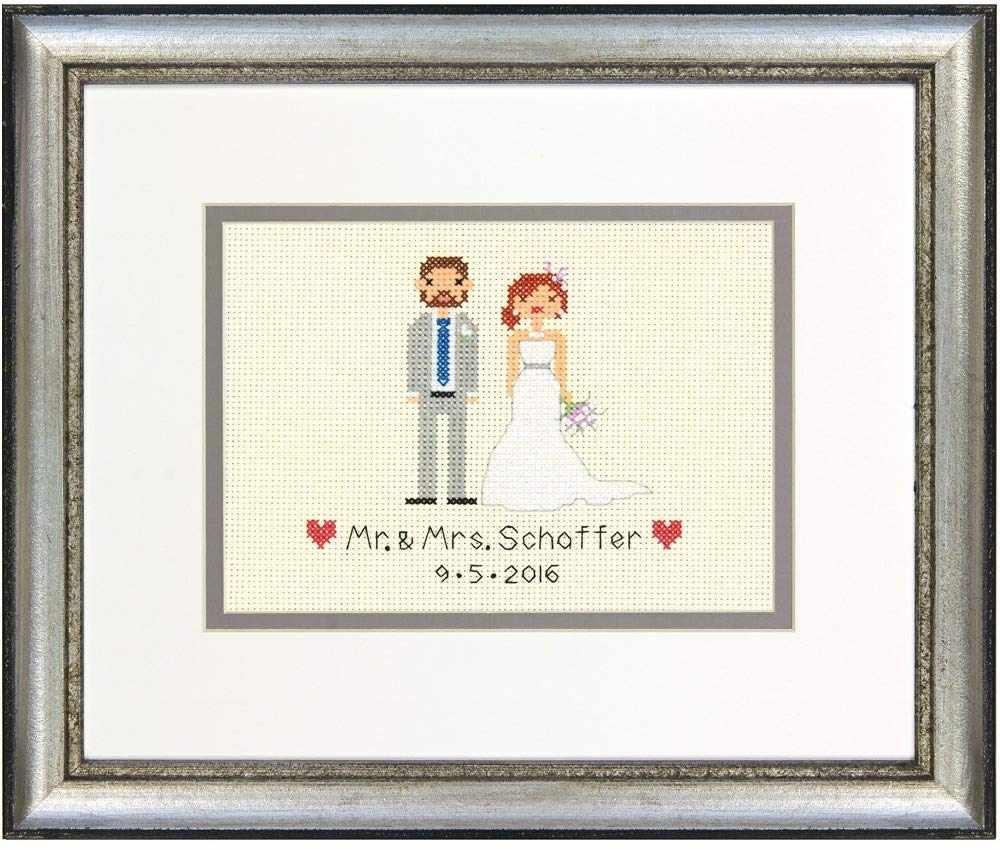 65160-DMS Жених и невеста запись о бракосочетании