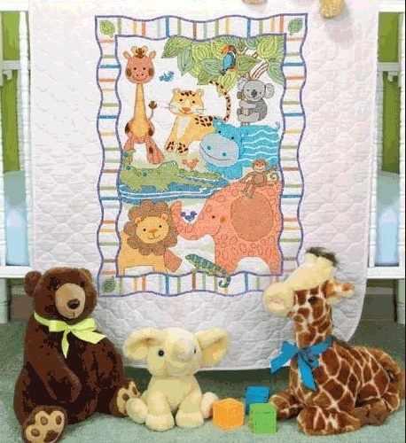 73507-DMS Лоскутное одеяло. Зоопарк