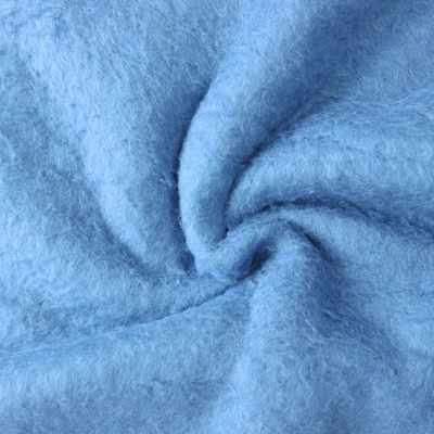 Мех хлопок с начесом 471008.1 Цвет: Голубой (50*75 см)