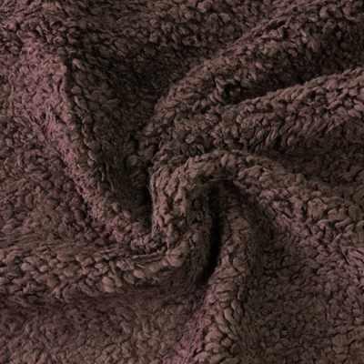 Мех хлопох с начесом 471049 Цвет.Коричневый (50*75 см)