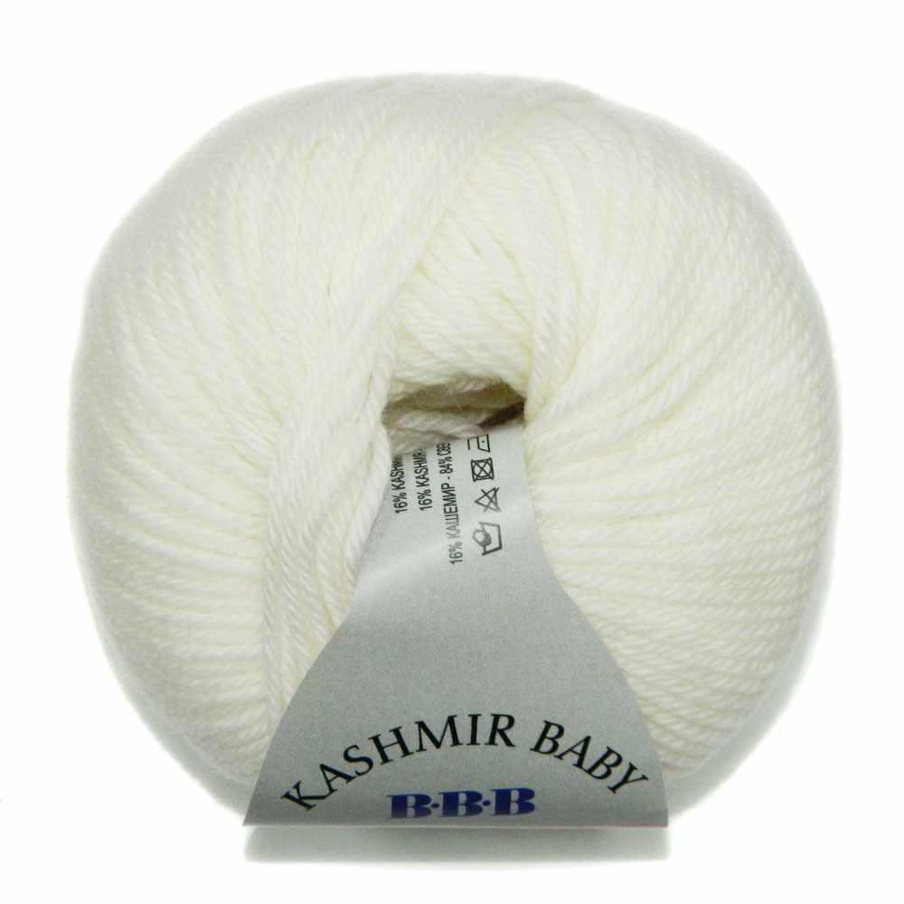 Пряжа BBB Filati Baby Kashmir Цвет.0100 Белый