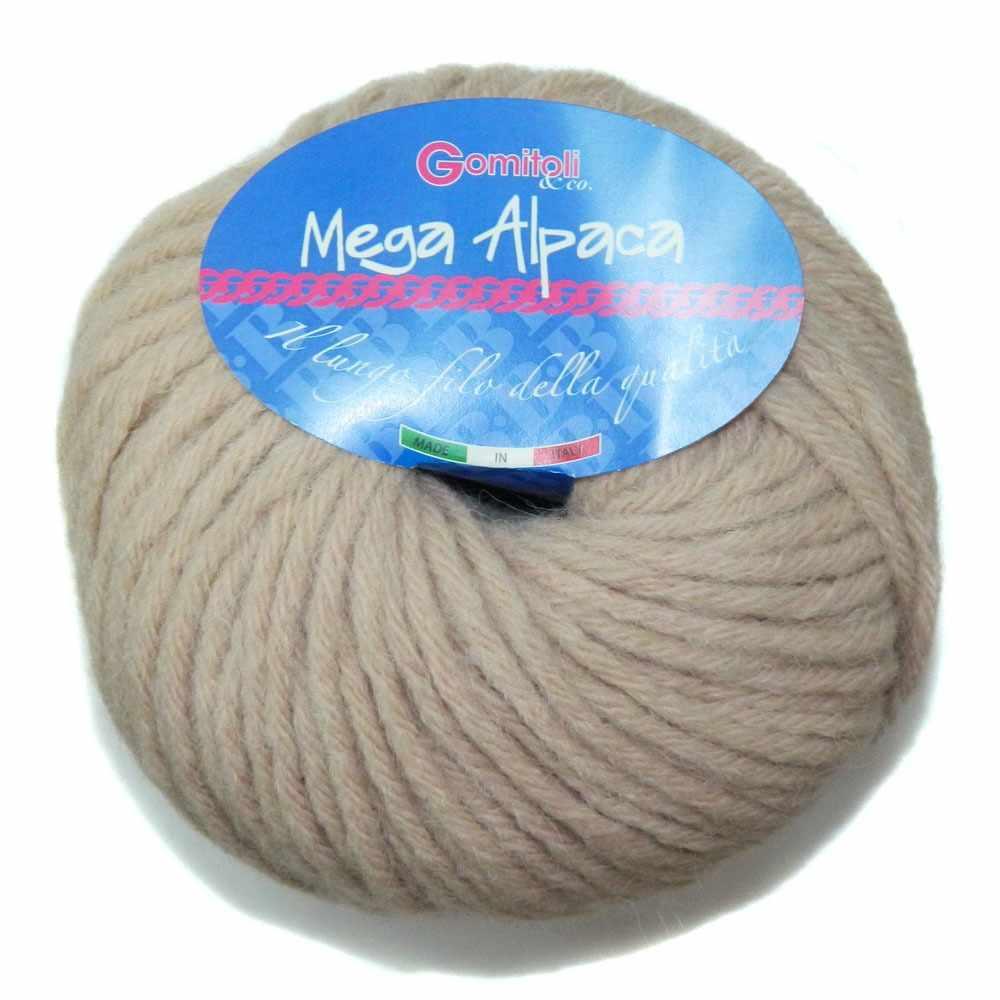 Пряжа BBB Filati Mega Alpaca Цвет.205 Кремовый