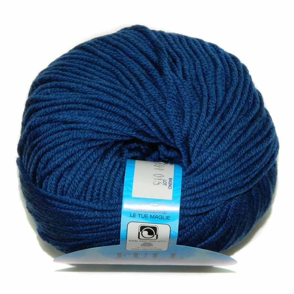 Пряжа BBB Filati Full Цвет.9509 Синий