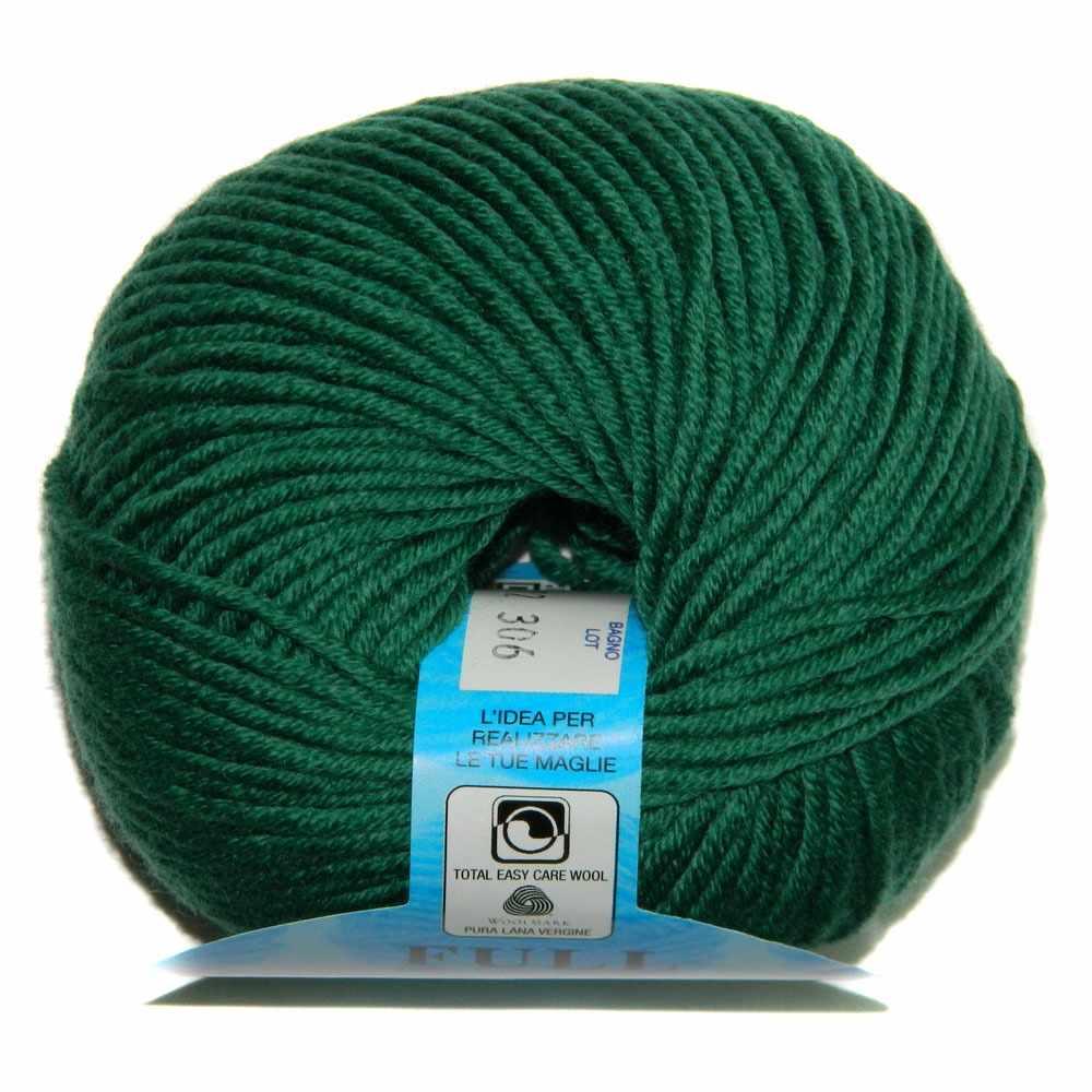 Пряжа BBB Filati Full Цвет.8737 ярк. зеленый