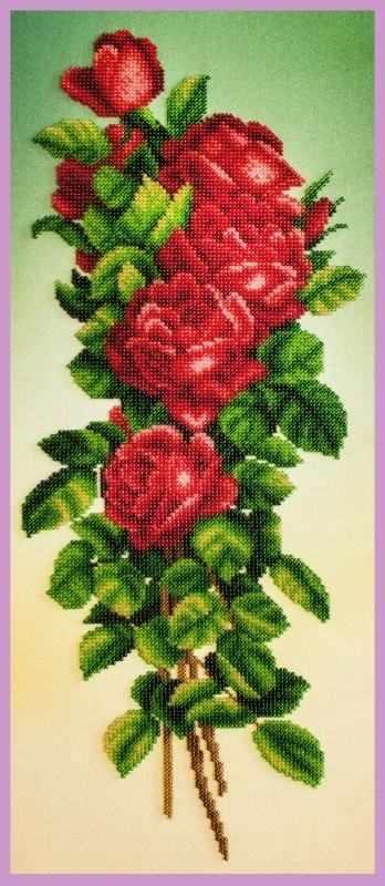 Р-348 Букет красных роз