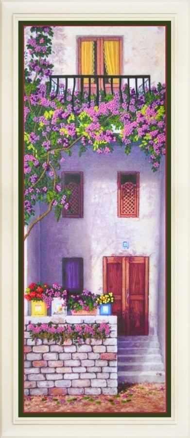 R-029 Цветущий балкон 2 - набор для вышивания