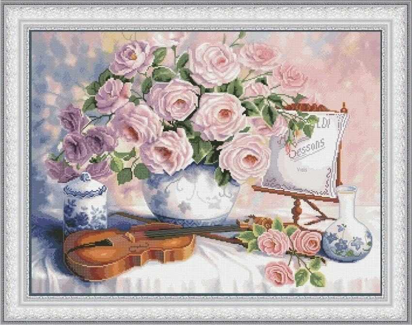 VN-077 Натюрморт со скрипкой