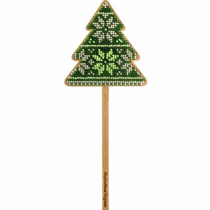 FLK-134 Набор для вышивания бисером по дереву